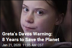 Greta's Davos Warning: 'Our House Is Still on Fire'