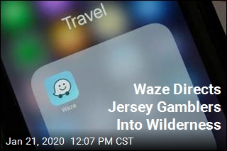 Whoops: Waze Directing Casino-Goers Into Wilderness