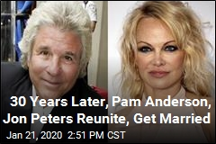 30 Years Later, Pam Anderson, Jon Peters Reunite, Get Married