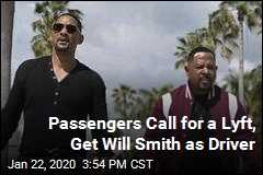 Passengers Call for a Lyft, Get Will Smith as Driver
