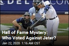 Jeter 1 Vote Shy of Unanimous Hall of Fame Election