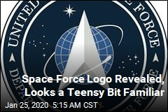 Space Force Logo Looks a Bit Familiar