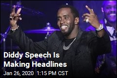 Diddy Speech Is Making Headlines