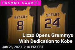Lizzo Opens Grammys With Dedication to Kobe