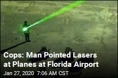 Florida Pilot Reports Being Temporarily Blinded by Laser