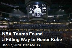 NBA Teams Found a Fitting Way to Honor Kobe