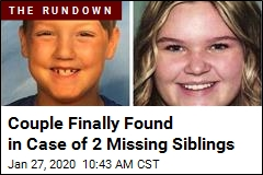 On-the-Run Couple Sought in Case of 2 Missing Siblings