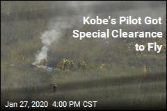 Amid Bad Conditions, Kobe's Pilot Got Special Clearance