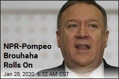 NPR Blocked From Pompeo Trip as Squabble Continues
