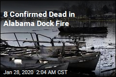 8 Confirmed Dead in Alabama Dock Fire