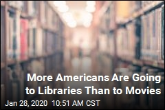 More Americans Are Going to Libraries Than to Movies