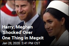 Harry, Meghan 'Shocked' Over One Thing in Megxit
