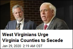W. Va. Governor Urges Virginia Counties to Secede