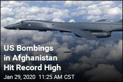 US Bombings in Afghanistan Hit Record High