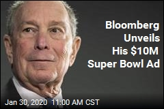 Bloomberg Unveils His $10M Super Bowl Ad