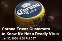 Corona Not Concerned About Searches for 'Corona Beer Virus'