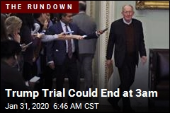 Trump Trial Could End at 3am