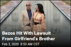 Next Chapter in Bezos' Dating Saga: a Lawsuit