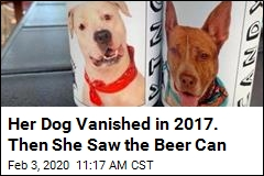 Her Dog Vanished in 2017. Then She Saw the Beer Can