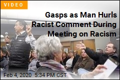 Guy Gets Racist During School Meeting on Racism