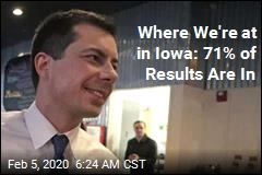 Pete's in the Lead in Iowa—but It's a Squeaker