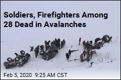 While Looking for Avalanche Survivors, They Were Buried