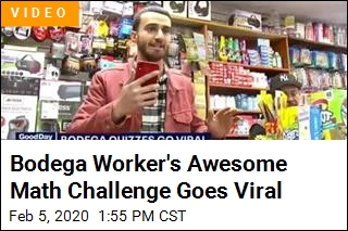 Bodega Worker Goes Viral for Awesome Math Challenge