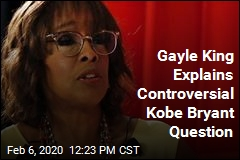 Gayle King Explains Controversial Kobe Bryant Question