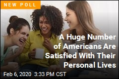 A Record Number of Americans Are Satisfied With Their Personal Lives