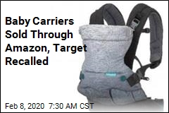 Thousands of Baby Carriers Recalled Due to Fall Hazard