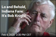 Bob Knight Ends Cold War With Indiana