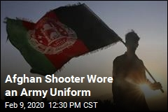 Afghan Shooter Wore an Army Uniform