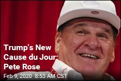 Trump: Get Pete Rose in the Hall of Fame