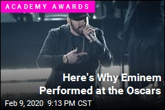 Here's Why Eminem Performed at the Oscars