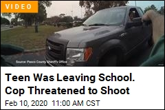 Deputy Threatens to Shoot Teen Trying to Leave School