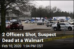 2 Officers Shot at Arkansas Walmart