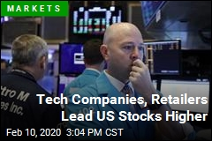 Tech Companies, Retailers Lead US Stocks Higher