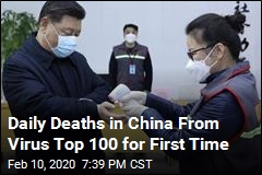 China's Virus Death Toll Hits 100 in a Day—1,000 Overall