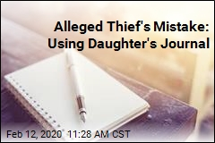 Alleged Thief's Mistake: Using Daughter's Journal