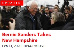 Bernie Sanders Leads in New Hampshire