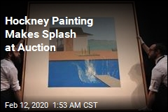 Hockney Painting Makes Splash at Auction