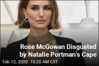 Rose McGowan Did Not Like Natalie Portman's Feminist Cape