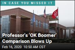 OU Professor Compares 'OK Boomer' to N-Word