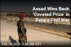 Assad Wins Back 'Coveted Prize' in Syria's Civil War
