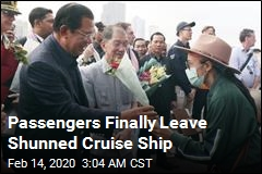 Passengers Finally Leave Shunned Cruise Ship