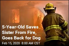 5-Year-Old Saves Sister From Fire, Goes Back for Dog