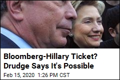 Drudge: Bloomberg Considering Hillary for VP