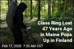 Class Ring Lost in 1973 in Maine Turns Up in Finland