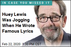 Huey Lewis Was Jogging When He Wrote Famous Lyrics
