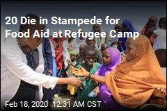 20 Die in Stampede for Food Aid at Refugee Camp